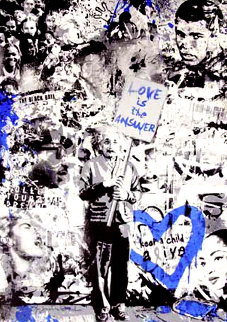 Keep a Child Alive (Blue) 2011 Limited Edition Print - Mr. Brainwash