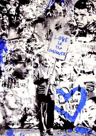 Keep a Child Alive (Blue) 2011 by Mr. Brainwash