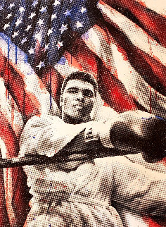 American Hero (Diamond Dust) 2019 Embellished Limited Edition Print - Mr. Brainwash