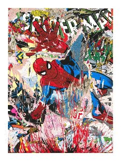 Spider-man 2019 Limited Edition Print - Mr. Brainwash