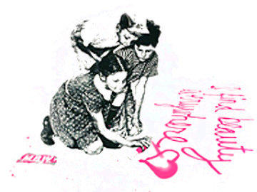I Find Beauty Everywhere, 2010 Limited Edition Print by Mr. Brainwash