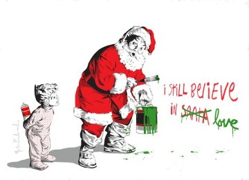 I Still Believe in Love 2010 Limited Edition Print by Mr. Brainwash