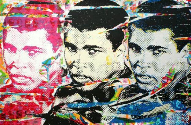 Ali (the Champ) 2010 Limited Edition Print by Mr. Brainwash