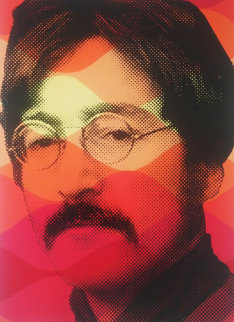 Vintage Lennon 2009 Limited Edition Print by Mr. Brainwash