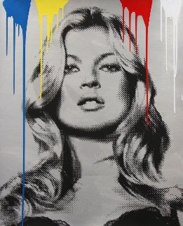 Cover Girl - Kate Moss 2010 Unique Limited Edition Print - Mr. Brainwash