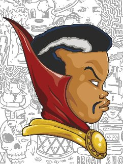 Doctor Strange (Papa Midnight Variant) 2016 Limited Edition Print - Hebru Brantley