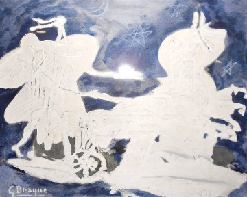 La Voiture 1952 Limited Edition Print - Georges Braque