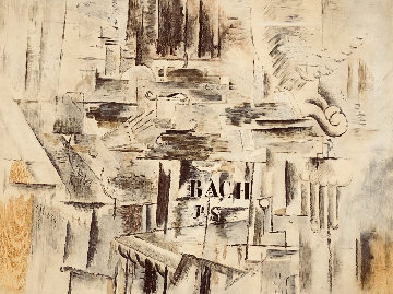 Hommage à J S Bach 1950 Limited Edition Print by Georges Braque