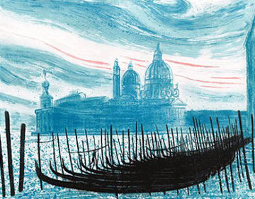 Venise AP 1981 Limited Edition Print - Andre Brasilier