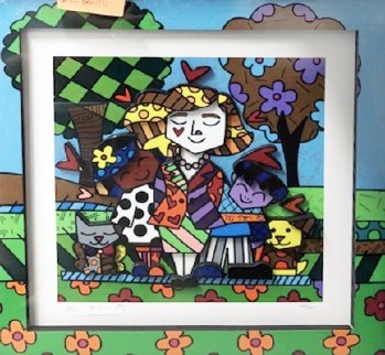 Frosene Sonderling 3-D 2008 Limited Edition Print - Romero Britto
