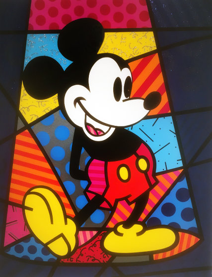 Mickey Mouse 1998 Limited Edition Print by Romero Britto