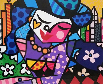 Uptown 2005 Limited Edition Print - Romero Britto