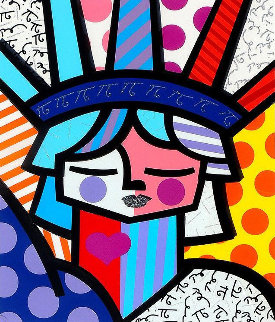 Free 3-D 2007 Limited Edition Print - Romero Britto