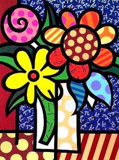Van Britto 1998 Limited Edition Print - Romero Britto