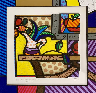 Living Room  3-D 2006 Limited Edition Print - Romero Britto