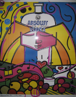 Absolut Britto 1990 Limited Edition Print - Romero Britto