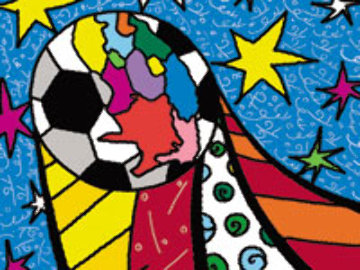 2010 World Cup South Africa Portfolio of 17 prints 2009 Limited Edition Print - Romero Britto