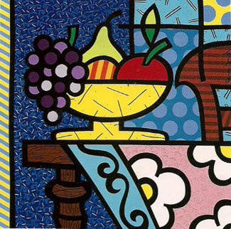 Home 1992 Limited Edition Print - Romero Britto