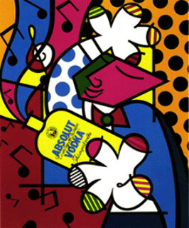 Absolut II 1992 Limited Edition Print - Romero Britto
