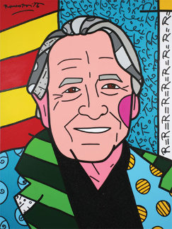 We Love Rauschenberg AP 2007 Limited Edition Print by Romero Britto