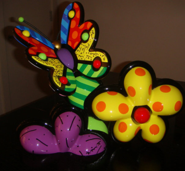 New Life Sculpture 2003 15x17 Sculpture by Romero Britto