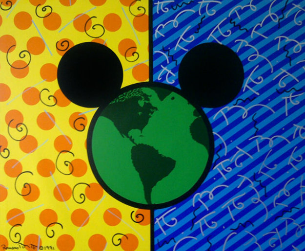 Mickey's World 1991 48x58