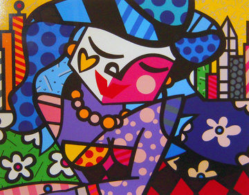 Uptown 2003 Limited Edition Print - Romero Britto