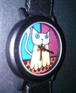 Cat Watch 1993 Jewelry - Romero Britto