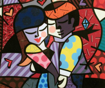 Dancers 2005 Limited Edition Print - Romero Britto