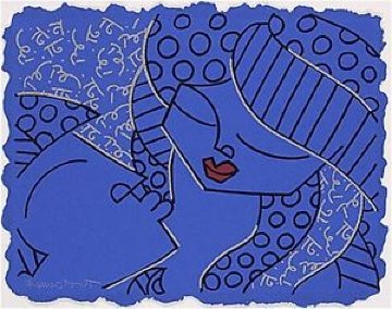 One And Only 1997 Limited Edition Print - Romero Britto