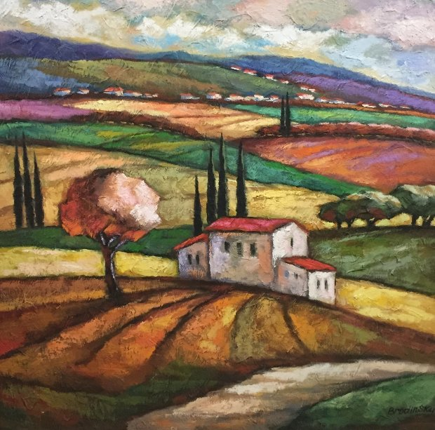 Summer in the Countryside 50x50