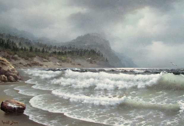 Untitled Seascape 30x55