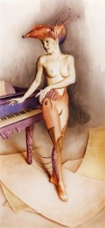 Piano Limited Edition Print - Gil Bruvel