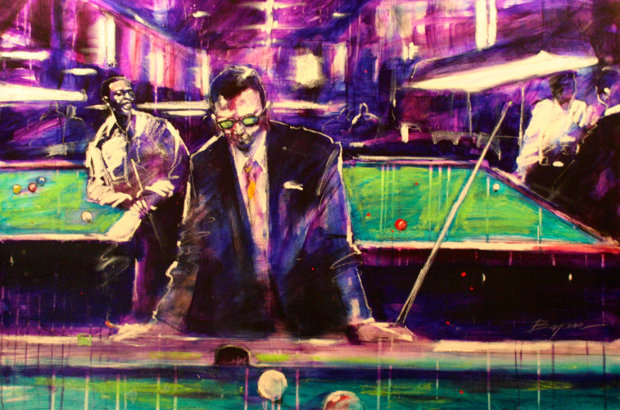 Pool Player 1999 24x36