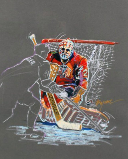 Great Save Drawing 1991 (Hockey) 35x29
