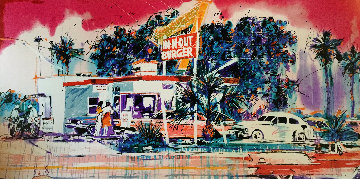 In N Out Burger Limited Edition Print - Michael Bryan
