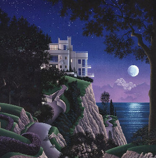 Druid Point 1988 Limited Edition Print - Jim Buckels