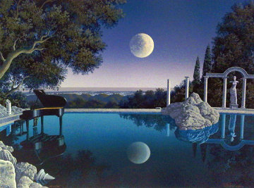 Bel Air Blues PP 1998 Limited Edition Print - Jim Buckels