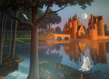 Le Moulin 1999 Limited Edition Print - Jim Buckels
