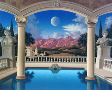 Villa Visconti 1995 Limited Edition Print - Jim Buckels