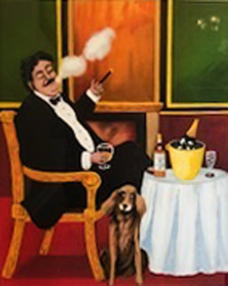 Mans Best Friend AP w Remarque 1977 Limited Edition Print - Guy Buffet