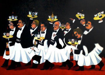 Race of Great Vintages Limited Edition Print - Guy Buffet