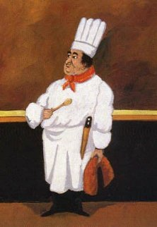 Chef Albert Limited Edition Print - Guy Buffet