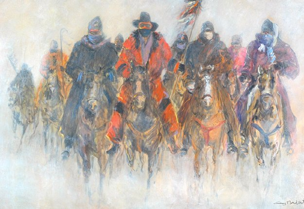 wounded knee guys Dick salem [full interview] [go when the caravan got to wounded knee, the leaders announced these were guys who had been out there in the cold.