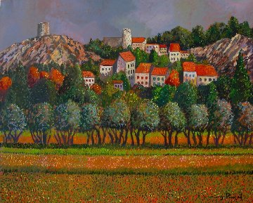 Provence: Eygalieres 30x40 France Original Painting - Guy Buffet