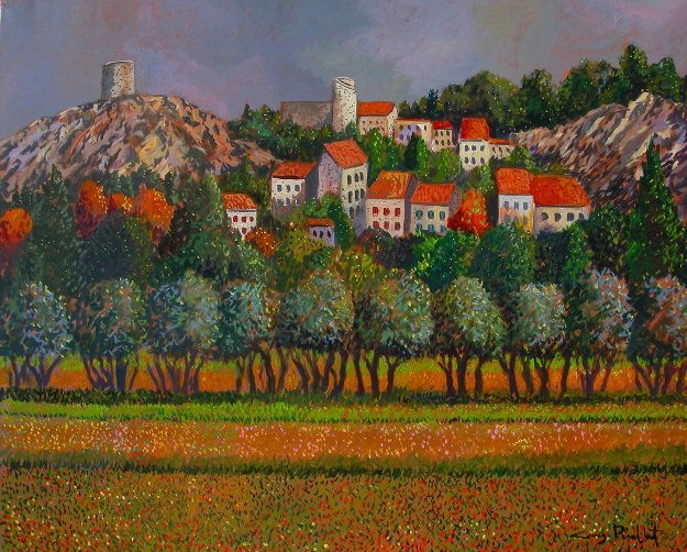 Provence: Eygalieres 30x40 France