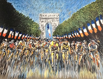Finish Line 2000 Tour de France Limited Edition Print - Guy Buffet