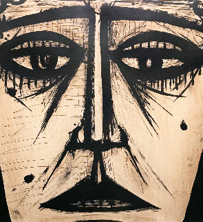 Visage 1958 Limited Edition Print - Bernard Buffet