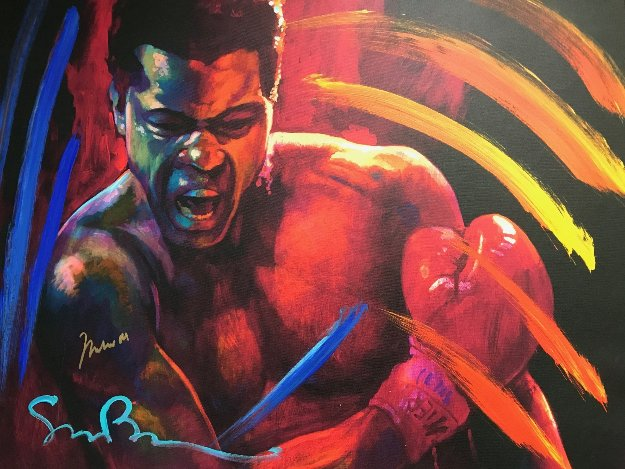 Get Up And Fight XIII 39x48 HS Muhammed Ali