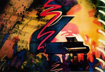 Pianoforte AP Limited Edition Print - Simon Bull